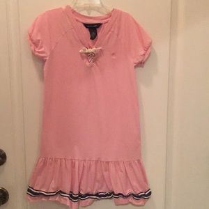 Pink Ralph Lauren Nautical dress for girls